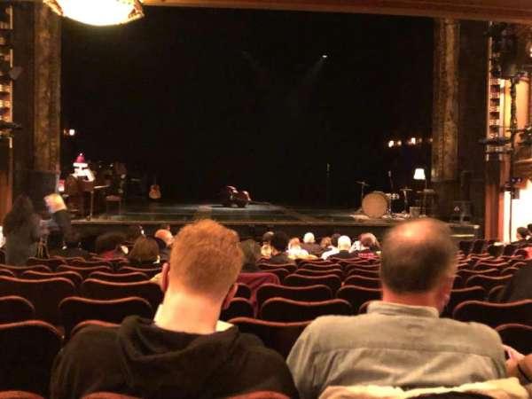 Belasco Theatre, vak: Orchestra, rij: P, stoel: 104