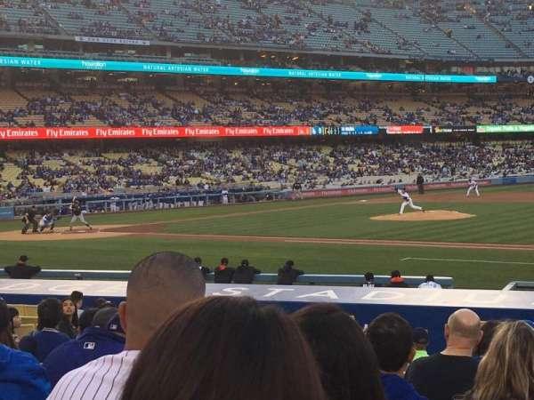 Dodger Stadium, vak: 24FD, rij: L, stoel: 3