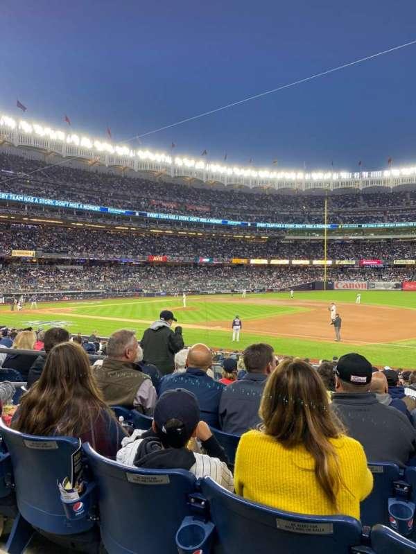 Yankee Stadium, vak: 114a, rij: 9, stoel: 9