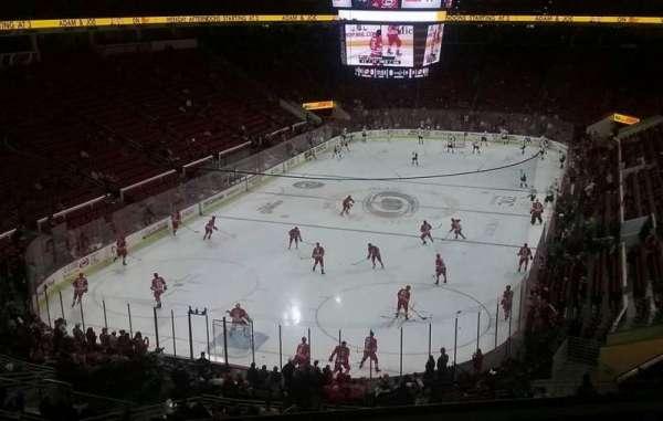 PNC Arena, vak: 211, rij: D, stoel: 8