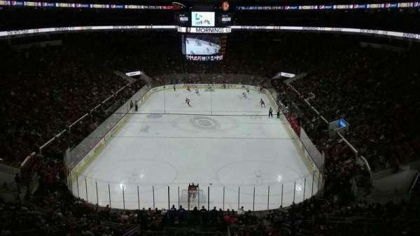 PNC Arena, vak: 212, rij: E, stoel: 4