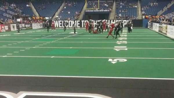 Greensboro Coliseum, vak: 118, rij: AA, stoel: 5