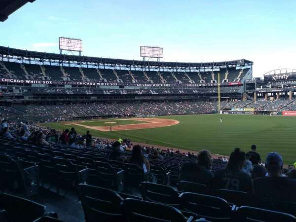 Guaranteed Rate Field, vak: 111, rij: 35, stoel: 7