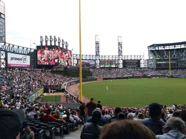 Guaranteed Rate Field, vak: 153, rij: 35, stoel: 10