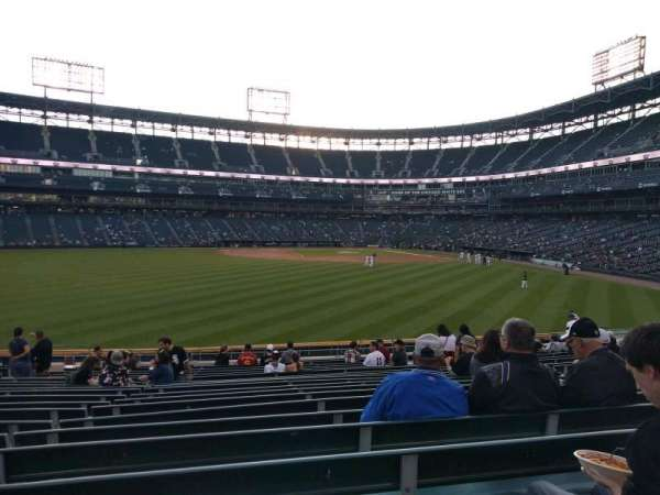 Guaranteed Rate Field, vak: 161, rij: 20, stoel: 12