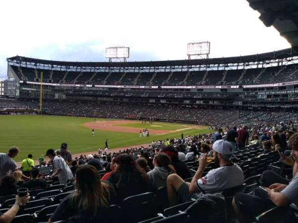 Guaranteed Rate Field, vak: 152, rij: 34, stoel: 8