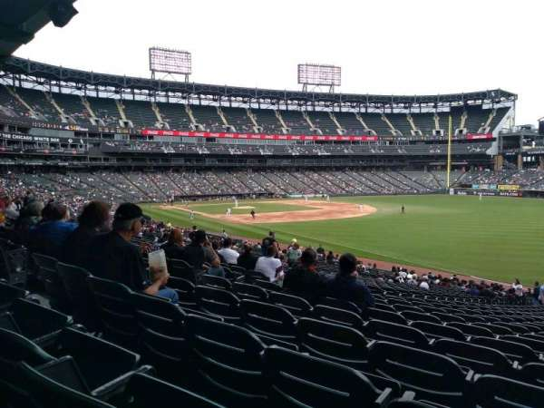 Guaranteed Rate Field, vak: 112, rij: 35, stoel: 1
