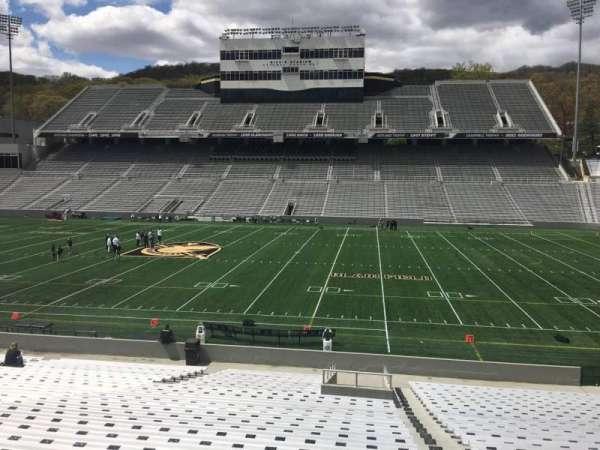 Michie Stadium, vak: 27, rij: CC, stoel: 17