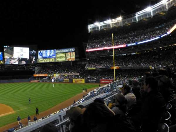 Yankee Stadium, vak: 216, rij: 3, stoel: 13