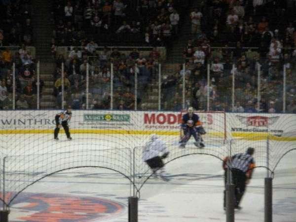 Old Nassau Veterans Memorial Coliseum, vak: 107, rij: J, stoel: 2