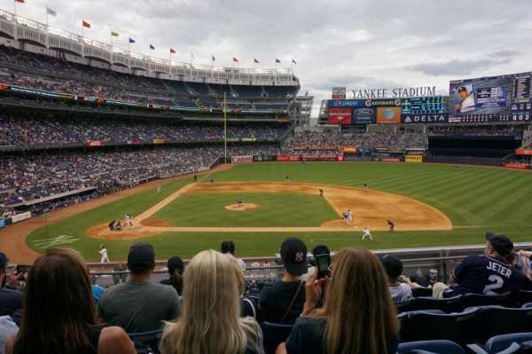 Yankee Stadium, vak: 216, rij: 6, stoel: 14