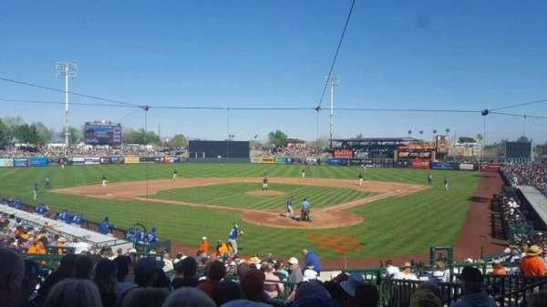 Scottsdale Stadium, vak: 301, rij: 3, stoel: 7