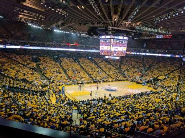 Oracle Arena, vak: M15, rij: 2
