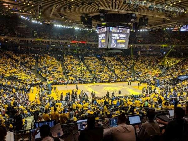Oracle Arena, vak: C11, rij: 2, stoel: 2