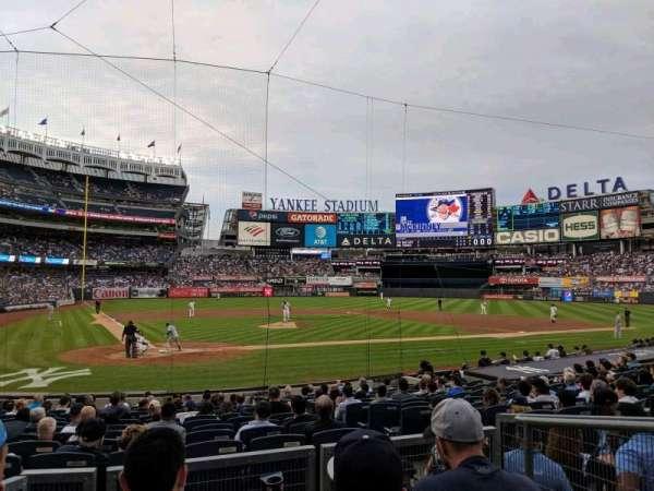 Yankee Stadium, vak: 118, rij: 4, stoel: 3