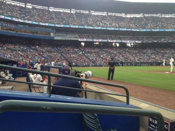 Turner Field, vak: 117r, rij: 2, stoel: 1