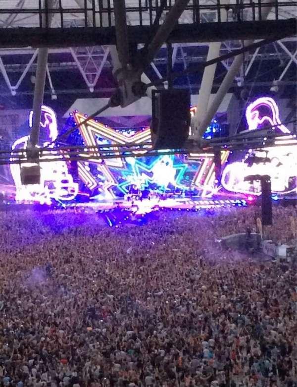 London Stadium, vak: 253, rij: 71, stoel: 787