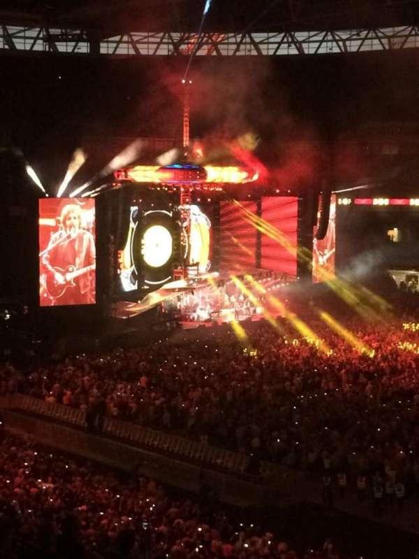 Wembley Stadium, vak: 225, rij: 10, stoel: 256
