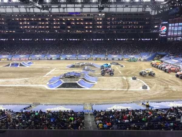 Ford Field, vak: 232, rij: 1, stoel: 15