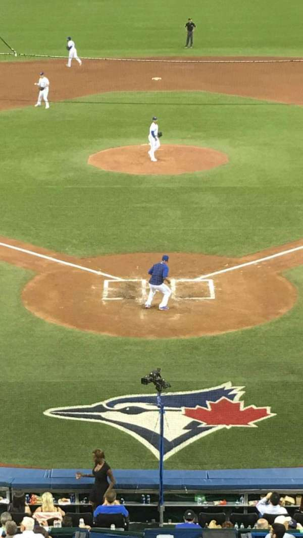 Rogers Centre, vak: 224BR, rij: 8, stoel: 7