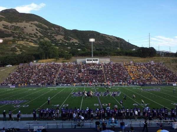 Stewart Stadium, vak: D, rij: 22, stoel: 11