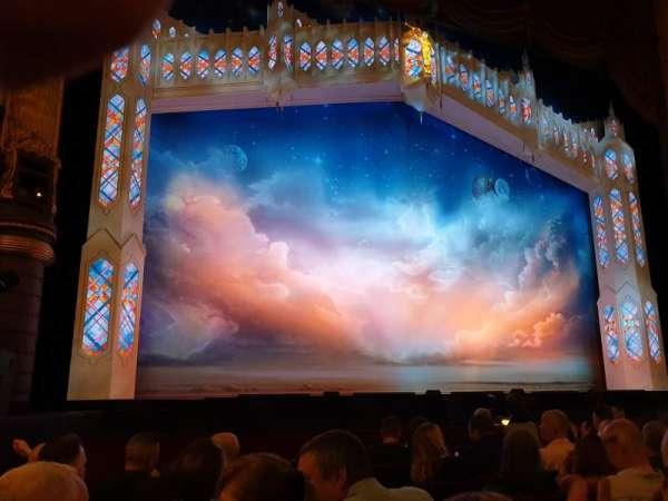 Palace Theatre (Manchester), vak: Stalls, rij: E, stoel: 33