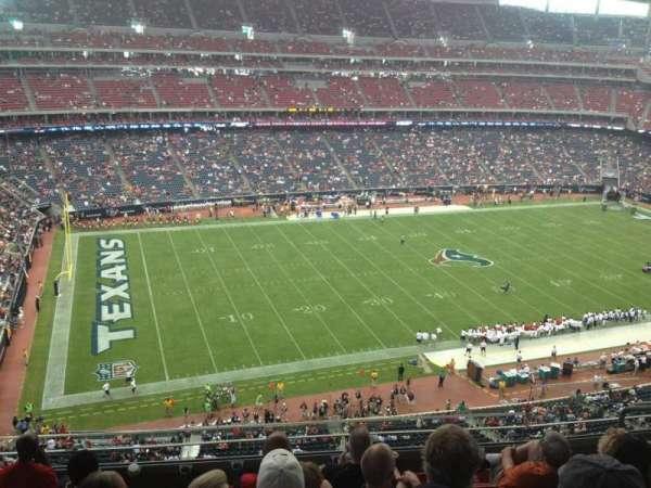 NRG Stadium, vak: 538, rij: M, stoel: 7