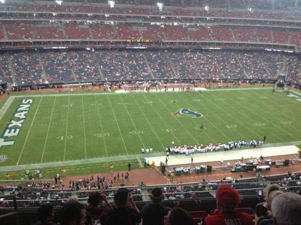 NRG Stadium, vak: 536, rij: M, stoel: 25