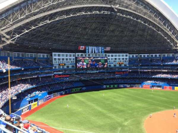 Rogers Centre, vak: 531L, rij: 6, stoel: 101