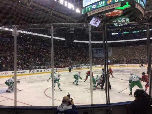 Scotiabank Arena, vak: 112, rij: 7, stoel: 4