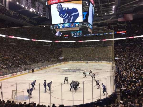 Scotiabank Arena, vak: 101, rij: 18, stoel: 19