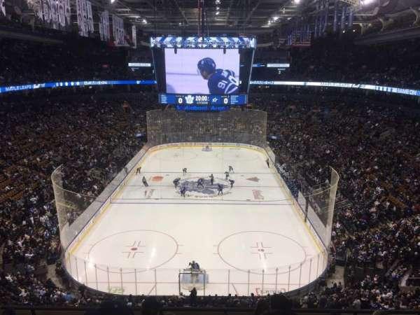 Scotiabank Arena, vak: 303, rij: 6, stoel: 5