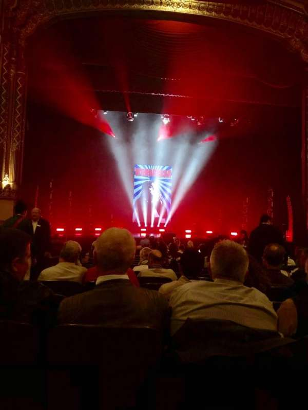 Golden Gate Theatre, vak: Orchestra C, rij: O, stoel: 101