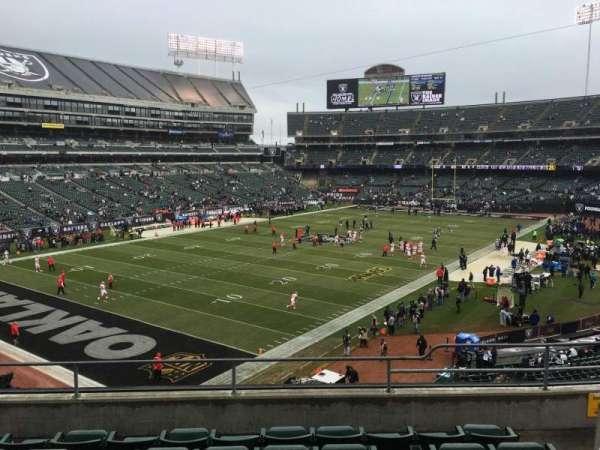 Oakland Alameda Coliseum, vak: 224, rij: 14, stoel: 7