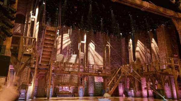 Richard Rodgers Theatre, vak: Orchestra L, rij: G, stoel: 5