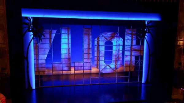 Nederlander Theatre, vak: Mezzanine C, rij: D, stoel: 113