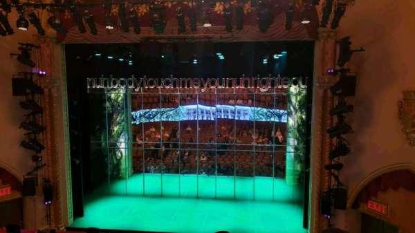 John Golden Theatre, vak: Front Mezzanine R, rij: D, stoel: 106