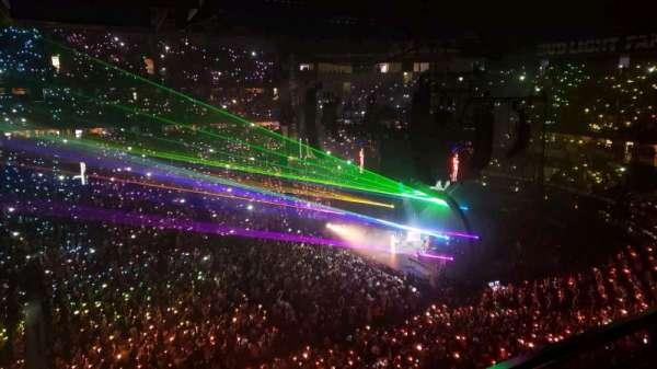 Bridgestone Arena, vak: 309, rij: A, stoel: 9