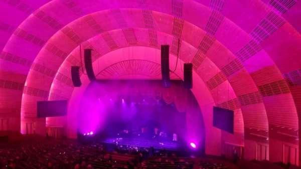 Radio City Music Hall, vak: 2nd Mezzanine 2, rij: D, stoel: 203