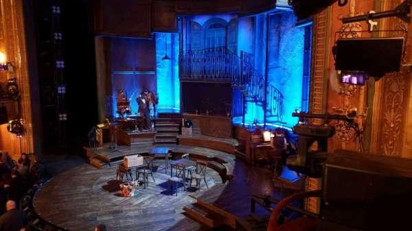 Walter Kerr Theatre, vak: Box A, rij: 1, stoel: 7