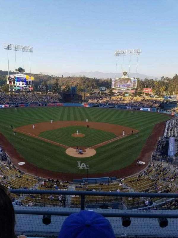 Dodger Stadium, vak: 1rs, rij: c, stoel: 17