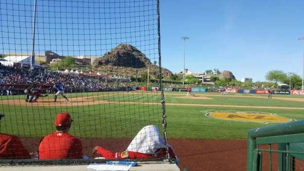 Tempe Diablo Stadium, vak: 15, rij: C, stoel: 9