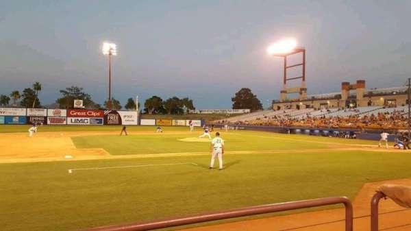 Cashman Field, vak: 6, rij: B, stoel: 1