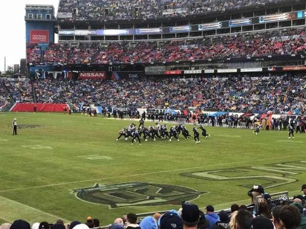 Nissan Stadium, vak: 104, rij: P, stoel: 9