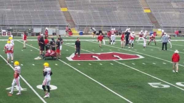 Camp Randall Stadium, vak: u, rij: 20, stoel: 14