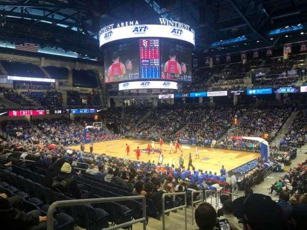 Wintrust Arena, vak: 105, rij: R, stoel: 2