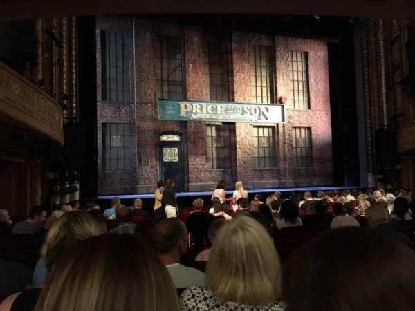 Al Hirschfeld Theatre, vak: ORCHL, rij: P, stoel: 5