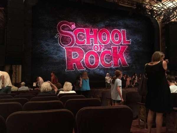 Winter Garden Theatre, vak: ORCH, rij: M, stoel: 3