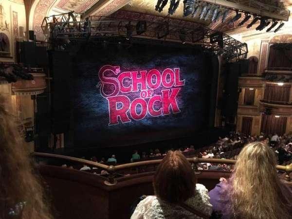 Winter Garden Theatre, vak: MEZZC, rij: C, stoel: 131
