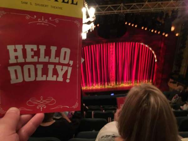 Shubert Theatre, vak: BALC, rij: H, stoel: 111